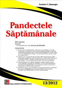 Imagine Pandectele Saptamanale, Nr. 13/2012