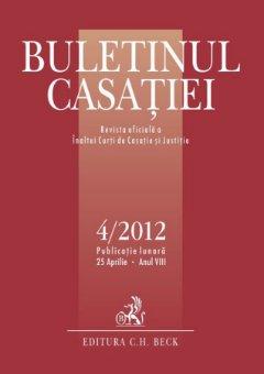 Imagine Buletinul Casatiei, nr. 4/2012