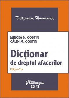 Imagine Dictionar de dreptul afacerilor ed 2