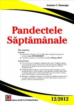 Imagine Pandectele Saptamanale, Nr. 12/2012