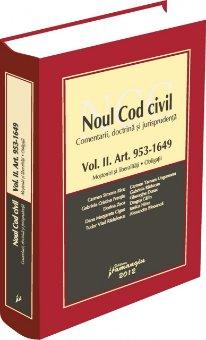 Imagine Noul Cod civil vol. II Art. 953 - 1649