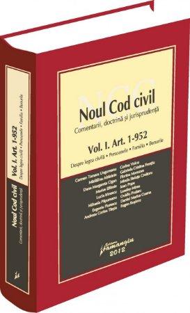 Imagine Noul Cod civil vol. I Art.1 - 952