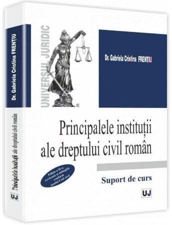 Imagine Principalele institutii ale dreptului civil roman