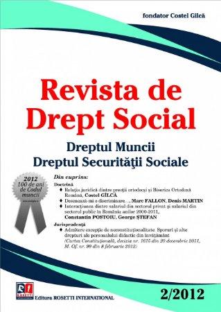 Imagine Revista de Drept Social, Nr. 2/2012