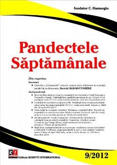 Imagine Pandectele Saptamanale, Nr. 9/2012