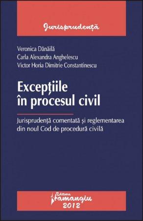 Imagine Exceptiile in procesul civil. Jurisprudenta comentata