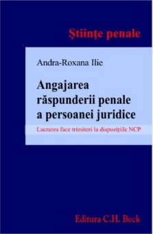 Imagine Angajarea raspunderii penale a persoanei juridice