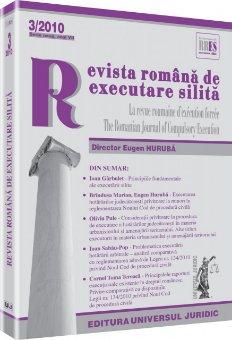 Imagine Revista romana de executare silita, Nr. 3/2010