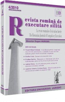 Imagine Revista romana de executare silita, Nr. 4/2010