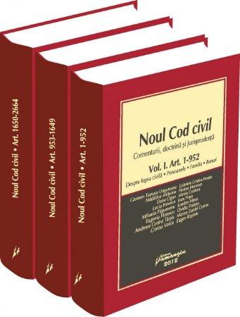 Imagine Noul Cod civil - comentarii, doctrina, jurisprudenta