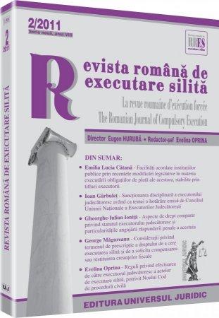 Imagine Revista romana de executare silita, Nr. 2/2011
