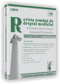 Imagine Revista romana de dreptul mediului, Nr. 1/2010
