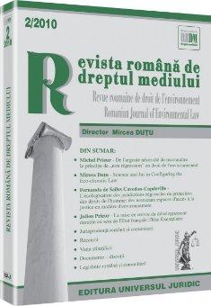 Imagine Revista romana de dreptul mediului, Nr. 2/2010