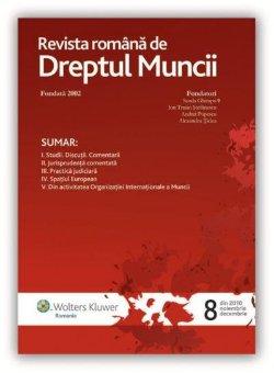 Imagine Revista romana de dreptul muncii, Nr. 8/2010