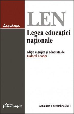 Imagine Legea educatiei nationale 1.12.2011