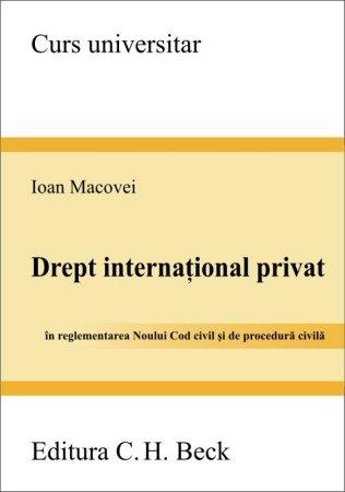 Imagine Drept international privat. In reglementarea Noului Cod civil si de procedura civila