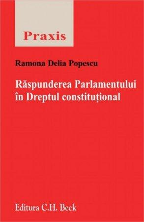 Imagine Raspunderea Parlamentului in Dreptul constitutional