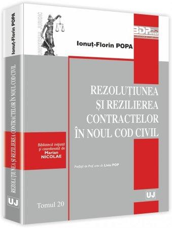 Imagine Rezolutiunea si rezilierea contractelor in Noul Cod civil