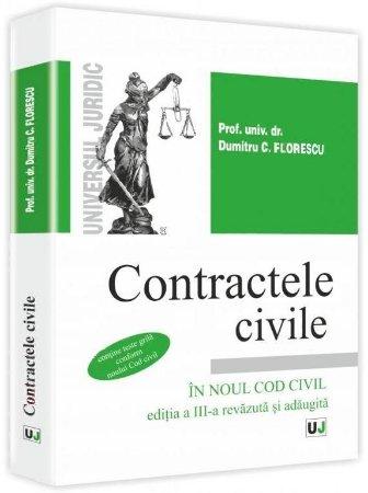 Imagine Contractele civile in noul Cod Civil. Contine grile conform Noului Cod civil