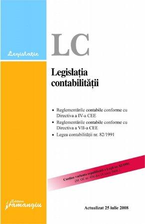 Imagine Legea contabilitatii actualizat 25.07.2008