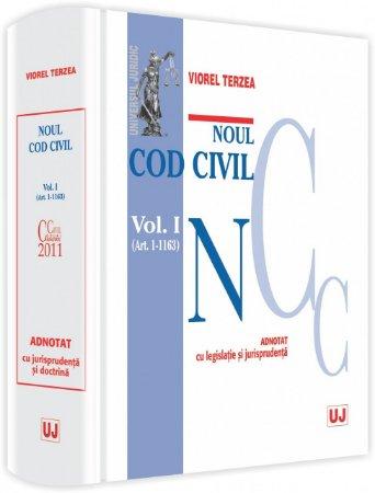 Imagine Noul Cod civil - Volumul I. ( Art. 1-1163)