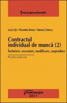 Imagine Contractul individual de munca (2).Practica judiciara