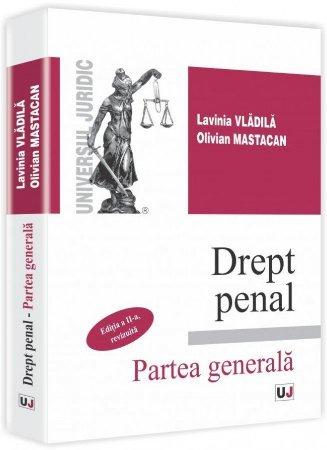 Imagine Drept penal. Partea generala - Curs universitar