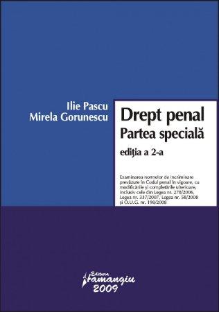 Imagine Drept penal. Partea speciala ed. 2 2009