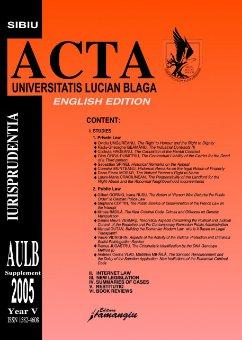 Imagine Acta Universitatis. Supliment 2005. English Edition