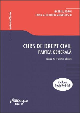 Imagine Curs de drept civil. Partea generala. Editia a 2-a