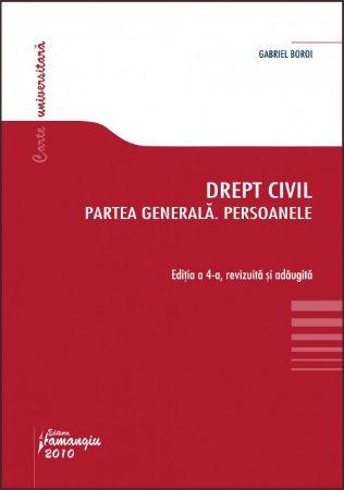 Imagine Drept civil. Partea generala. Persoanele ed. 4