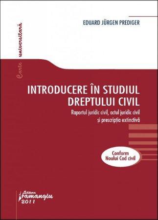 Imagine Introducere in studiul dreptului civil