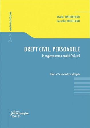 Imagine Drept civil. Persoanele in reglementarea noului Cod Civil ed 2