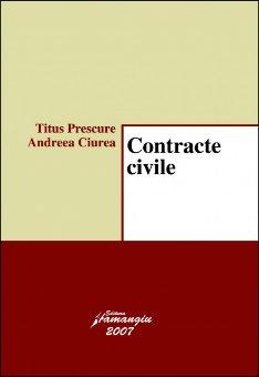 Imagine Contracte civile. Curs universitar