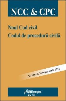 Imagine Noul cod civil.Codul de procedura civila 26.09.2012