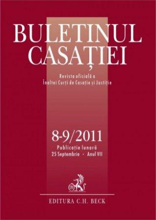 Imagine Buletinul Casatiei, Nr. 8-9 / 2011