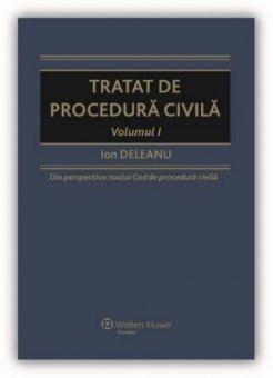 Imagine Tratat de procedura civila. Volumul I