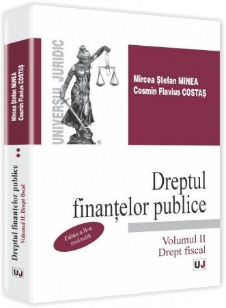 Imagine Dreptul finantelor publice. Vol II. Drept fiscal