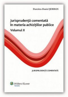 Imagine Jurisprudenta comentata in materia achizitiilor publice. Volumul II