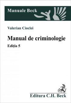 Imagine Manual de criminologie