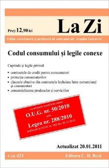 Imagine Codul consumului si legile conexe