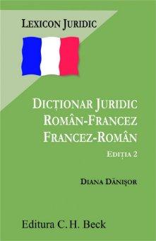Imagine Dictionar juridic roman-francez francez-roman