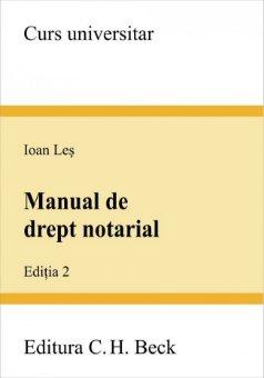 Imagine Manual de drept notarial