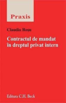 Imagine Contractul de mandat in dreptul privat intern