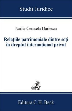 Imagine Relatiile patrimoniale dintre soti in dreptul international privat