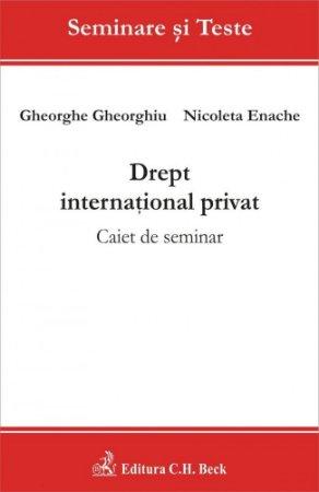 Imagine Drept international privat. Caiet de seminar
