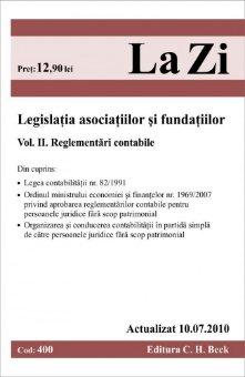 Imagine Legislatia asociatiilor si fundatiilor. Volumul II. Reglementari contabile