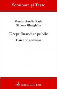 Imagine Drept financiar public. Caiet de seminar