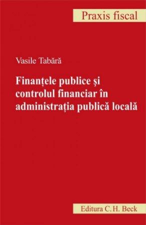 Imagine Finantele publice si controlul financiar in administratia publica locala