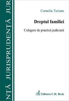 Imagine Dreptul familiei. Culegere de practica judiciara